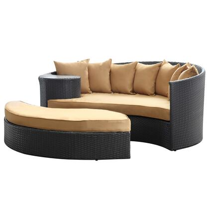 "Modway EEI645EXPMOC 71"" Water Resistant Outdoor Bed"