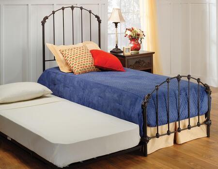Hillsdale Furniture 346BTWHTR Bonita Series  Twin Size Panel Bed