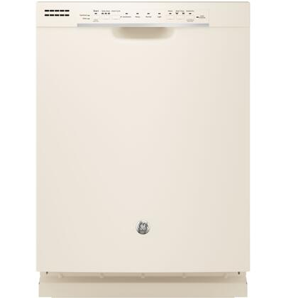 "GE GDF520P 24"" Energy Star Built In Dishwasher with 16 Place Settings, 4 Wash Cycles, 54 dBA, Steam Prewash, SpaceMaker Basket and Piranha Hard Food Disposer, in"