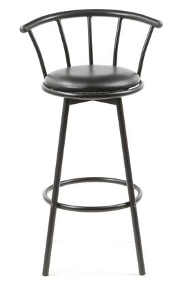 Coaster 2398 Buckner Series Residential Faux Leather Upholstered Bar Stool