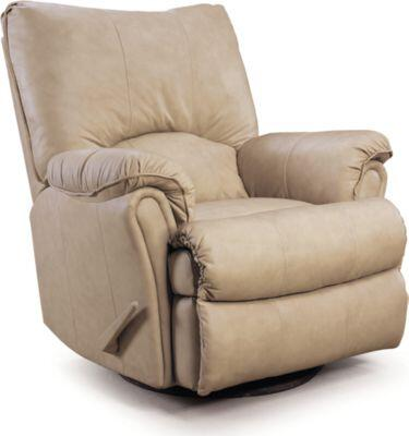 Lane Furniture 2053186598716 Alpine Series Transitional Leather Wood Frame  Recliners
