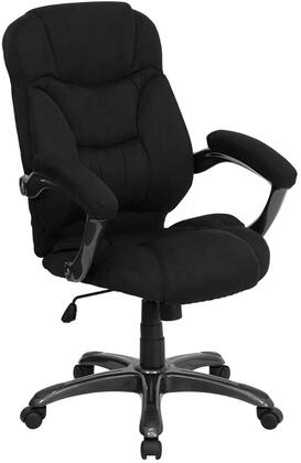 "Flash Furniture GO-725-XX-GG 18.25"" High Back Microfiber Upholstered Contemporary Office Chair with Overstuffed Seat and Back, Built-In Lumbar Support, and Spring Tilt Control Mechanism"