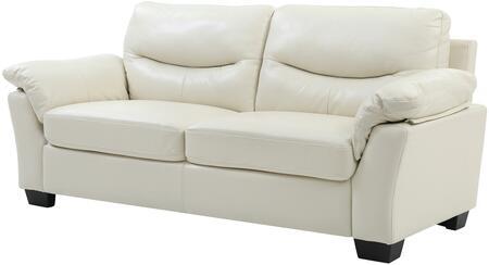 Glory Furniture G651AS  Faux Leather Sofa