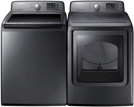 Samsung Appliance SAM2PCTL27EKIT5 Washer and Dryer Combos