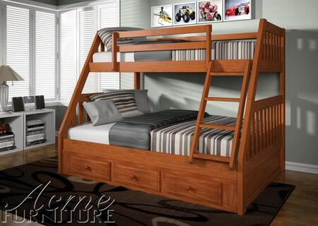 Acme Furniture 37000 Ryo Series  Twin Size Bunk Bed