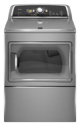 Maytag MGDX700X 7.4 Cu. Ft. 10-Cycle SuperSize Capacity Plus Gas Dryer with Interior Light, 150 Minute Wrinkle Prevent Option, Reversible Swing Door and in