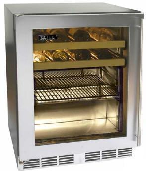 Perlick HC24BB3LDNU  Commercial Series Built-In Compact Beverage Center