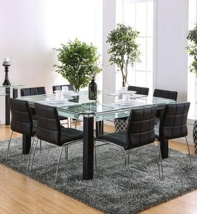 Furniture Of America Cm3363t8sc Batesland I Dining Room Sets Appliances Connection