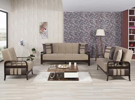 Casamode SNSBLSACMBN Living Room Sets