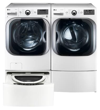 LG LG4PCFL29E2PEDSSKIT6 Washer and Dryer Combos