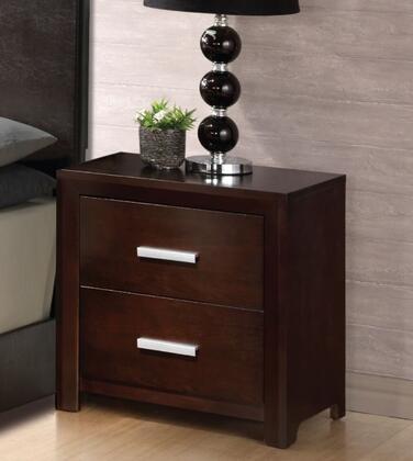 Glory Furniture G1800N  Rectangular Wood Night Stand