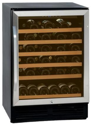 """Avanti WCR506SS 23.5"""" Built-In and Freestanding Wine Cooler, in Stainless Steel"""