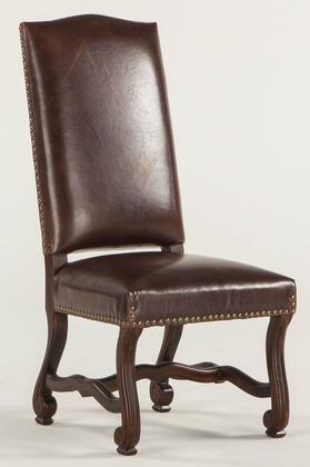 Home Trends & Design ZWIA77DL Isabella Series Modern Leather Wood Frame Dining Room Chair