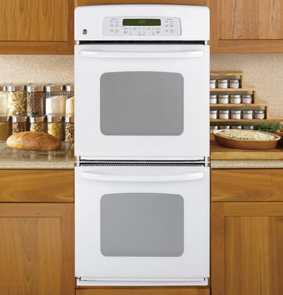 GE JKP55DPWW Double Wall Oven, in White