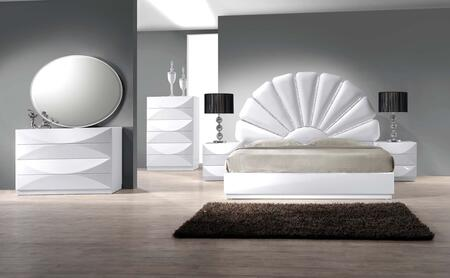 Chintaly PARISKING4SET Paris King Bedroom Sets
