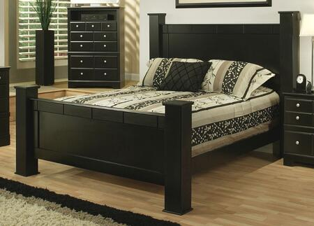 Sandberg 334J Elena Series  King Size Poster Bed