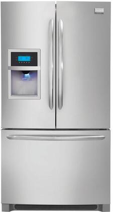 Frigidaire FGHB2846LF Gallery Series  French Door Refrigerator with 27.8 cu. ft. Total Capacity 4 Glass Shelves