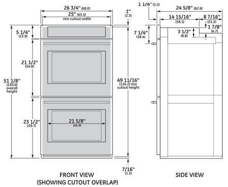 Ge Appliance Warranty >> GE Monogram ZEK7500SHSS 27 Inch Stainless Steel Double Wall Oven | Appliances Connection