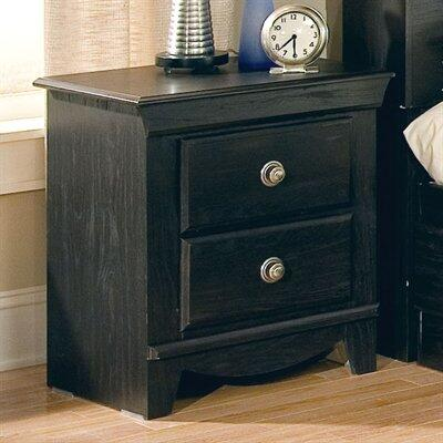 Standard Furniture 50407 Carlsbad Series Rectangular Wood Night Stand