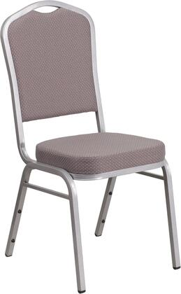 hercules series crown back stacking banquet chair with gray dot fabric and 2 5 thick seat silver frame fd c01 s 6 gg 2 (1)