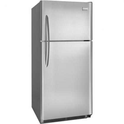 Frigidaire FGHT1844KF Gallery Series Freestanding Top Freezer Refrigerator with 18.28 cu. ft. Total Capacity 3 Glass Shelves 4.07 cu. ft. Freezer Capacity