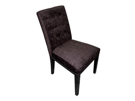 Stein World 12143 Armless Fabric Wood Frame Accent Chair