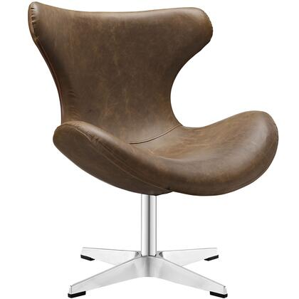 Modway EEI-1804 Helm Vinyl Lounge Chair