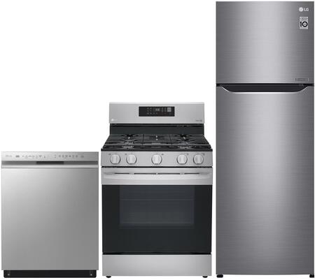 LG 999686 3 piece Stainless VCM Kitchen Appliances Package
