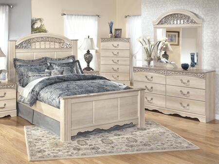 Signature Design by Ashley B1963136646798 Catalina Queen Bed