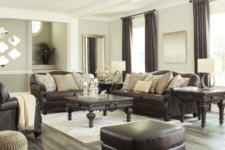 Signature Design by Ashley Embrook Living Room Set