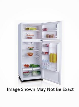Golden GRD10GLS Freestanding Top Freezer Refrigerator with 10 cu. ft. Total Capacity  with Door Lock