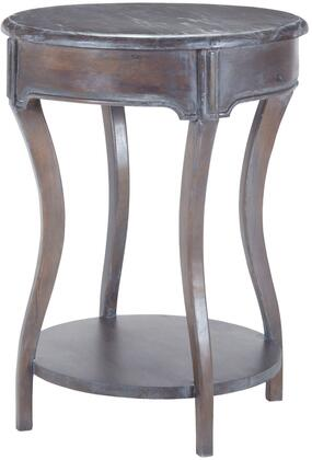 Sterling 7011028 Table Series Transitional Wood Round None Drawers End Table