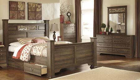 Milo Italia BR311QPSBDMC Krueger Bedroom Sets