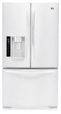 LG LFX25973SW  French Door Refrigerator with 24.7 cu. ft. Capacity in White