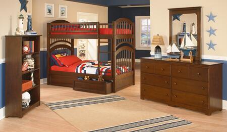 Atlantic Furniture WINTTAW  Twin Size Bed