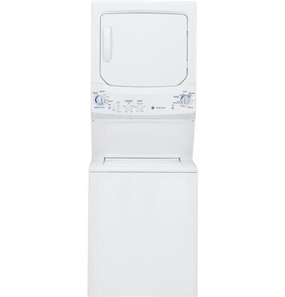 "GE GTUP270GMWW 26.8"" Gas Laundry Center"