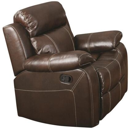 Coaster 603023 Myleene Series Casual Bonded Leather Wood Frame  Recliners