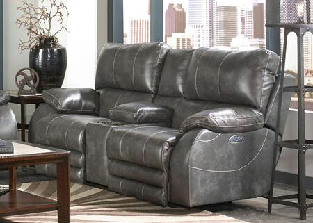 Catnapper 64279115278125278 Sheridan Series Faux Leather Reclining with Metal Frame Loveseat