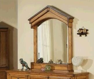 Acme Furniture 00130  Arched Portrait Dresser Mirror