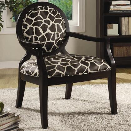 Coaster 900214 Armchair Fabric Wood Frame Accent Chair