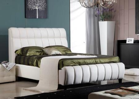 Diamond Sofa UPTOWNQUEENW Uptown Series  Queen Size Bed