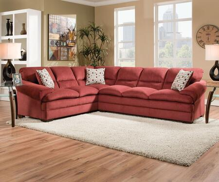 Acme Furniture 52350 Roselyn Series Stationary Fabric Sofa