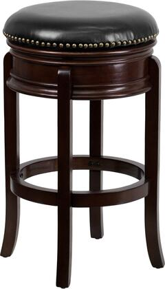 "Flash Furniture TA-68829 29"" Backless Barstool with Swivel Seat, Protective Floor Glides and LeatherSoft Upholstery in"