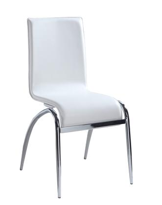 Chintaly ELAINESCWHT Elaine Series  Dining Room Chair