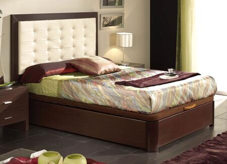 ESF Alicante Collection i1126X Bed with Storage in Wenge