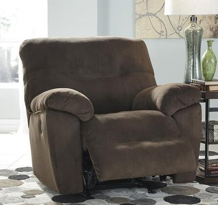 Signature Design by Ashley 8270225 Slidell Series Contemporary Fabric Metal Frame Rocking Recliners