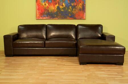 Wholesale Interiors 3022A713SOFACHAISEBROWN  Sofa