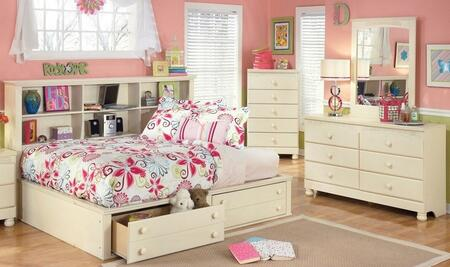 Milo Italia BR303TBSBDM Burton Twin Bedroom Sets