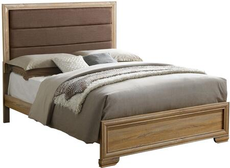 Furniture of America CM7660CKBED Renee Series  California King Size Bed