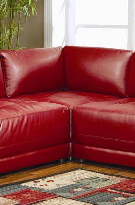 Coaster 500898 Leather  in Red
